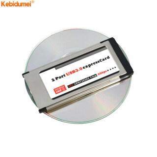 Kebidumei Bộ Chuyển Đổi Thẻ PCI Express Sang USB 3.0 Hai Cổng PCI E, Bộ Chuyển Đổi Thẻ Tốc Hành Khe 34 MM Cho Chipset NEC 5Gbps thumbnail
