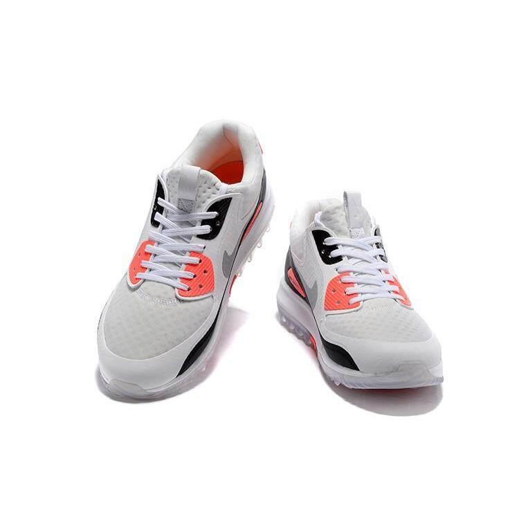 new arrive 5b6b6 fb6fe Mens/Womens Nike Air Max 90 Zoom IT Golf Shoes Black/White/Infrared 844569- 101 | Lazada PH