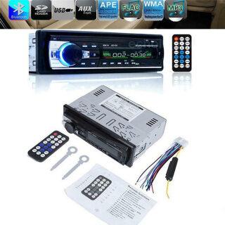 Điện Thoại Rảnh Tay BUCHE JSD520, Máy Chủ Âm Thanh Stereo Bộ Phận Đầu Âm Thanh Trong Bảng Điều Khiển Bluetooth FM USB AUX SD Xe MP3 Máy Nghe Nhạc, Đài Phát Thanh Xe thumbnail