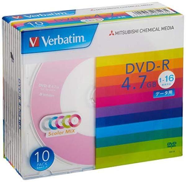 Verbatim Japan (Verbatim Japan) 1 times for recording DVD-R 4.7GB 10 sheets 5 color disk single-sided, single-layer 1-16 speed DHR47JM10V1