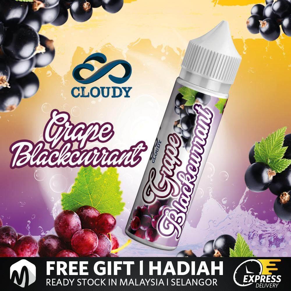 Cl0udy Juice 60ML Mango / Grape Blackcurrant Vape Juice Ready Stock New Name Malaysia
