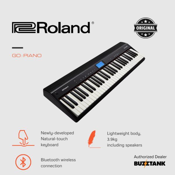 Roland GO:PIANO - 61 Keys Digital Piano With Note Stand and Adapter (GO-61P/GO-PIANO/GOPIANO) Malaysia