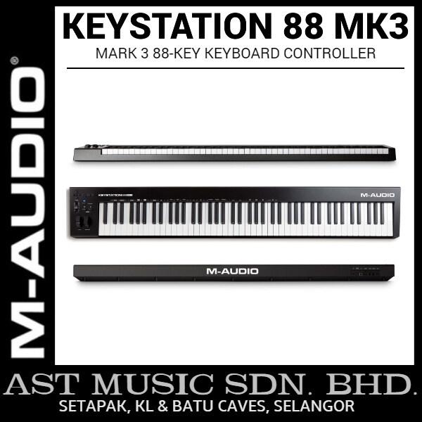 M-Audio Keystation 88 MK3 88-key Keyboard Controller Malaysia
