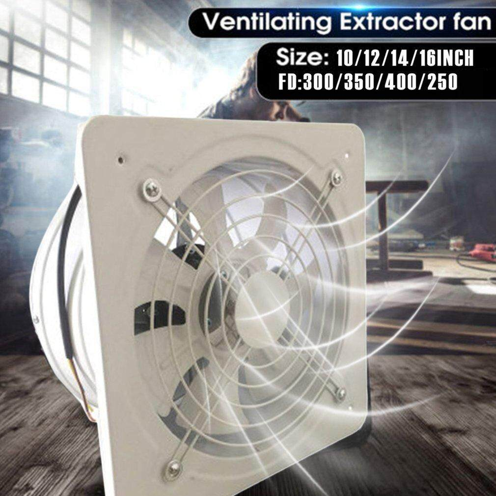 TOP Industrial Ventilation Extractor Metal Axial Exhaust Commercial Air  Blower Fan