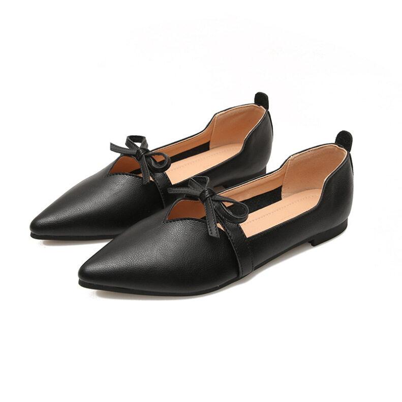 Giày Nữ Mũi Nhọn Nổi Tiếng Trên Web, Giày Mary Jane Cỡ Lớn, 2020 giá rẻ