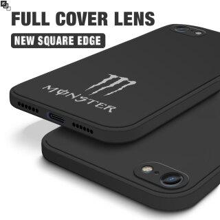 Ốp Lưng Hontinga Cho iPhone 6 6S 7 8 Plus SE 2020 Ốp Lưng Thời Trang Monster Energy Silicone CẠNH VUÔNG Điện Thoại Vỏ Bọc Toàn Bộ Camera Chống Sốc Ốp Lưng Cao Su Cho Bé Gái thumbnail