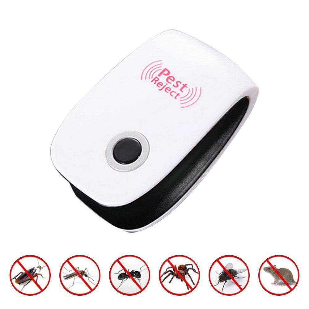 Onlook Ultrasonic Electronic Insect Repellent, Ultrasonic Electronic Anti Rat Pest Insect Mosquito Cockroach Reject Repeller By Onlook.