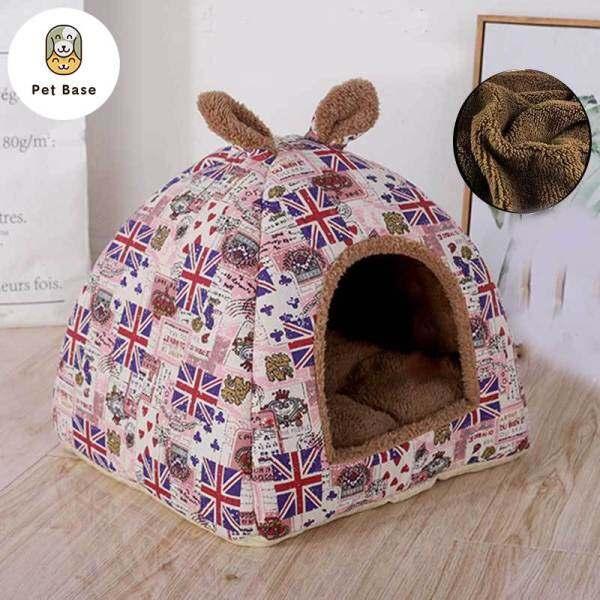 1 Giường Cũi Cho Chó Ngủ Có Thể Tháo Rời Có Thể Gập Lại Mèo Nhà Ấm Áp Mềm Mại Tổ, Bốn Mùa, Phổ