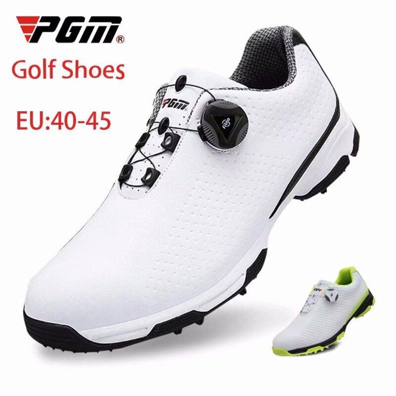 PGM Ngoài Trời Giải Trí Giày Golf Chất Lượng Cao Của Nam Giới Không Thấm Nước Và Thoáng Khí Sneakers