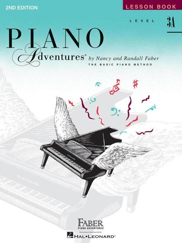 LEVEL 3A – LESSON BOOK – 2ND EDITION Piano Adventures® Malaysia