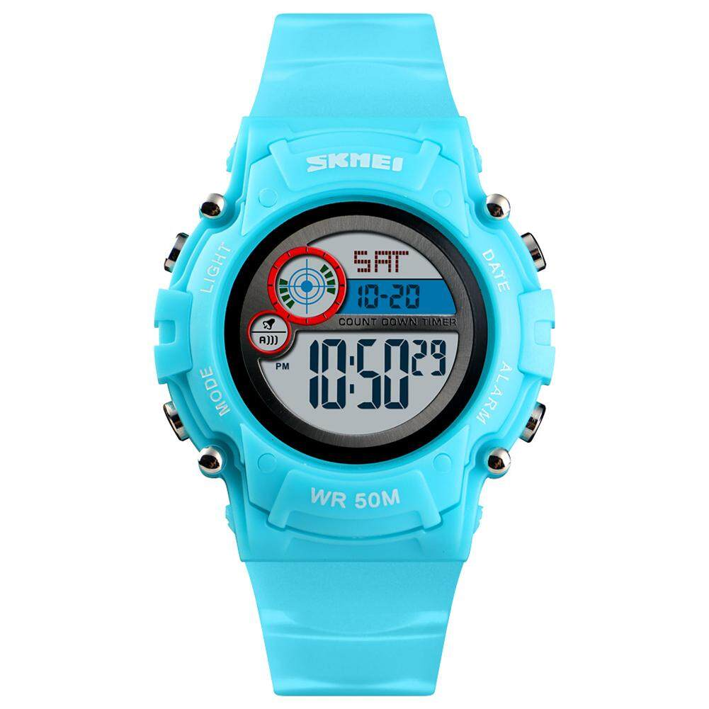 SKMEI Fashion Children Girls Cartoon Watches Colorful Electronic Wristwatch for Kids Birthday Party Gifts Malaysia