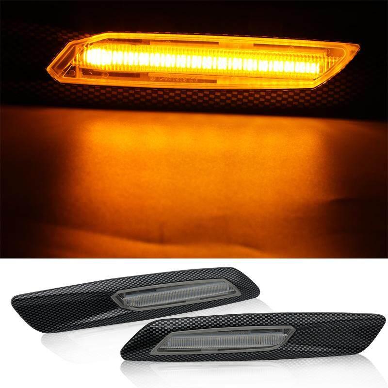 Amber LED Fender Side Marker Lamp Turn Signal For F10 Style E60 E61 E90 E91 E81