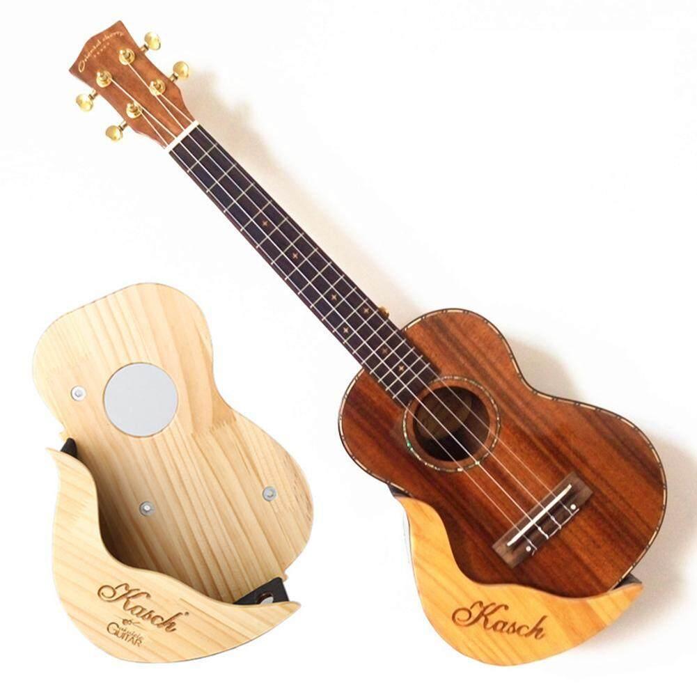 KOKKO Đàn Ukulele Treo Tường Giá Đỡ Bằng Gỗ Thông New Zealand Gỗ Ukelele Khung Ảnh Treo Tường Đứng Kệ Đàn Ukulele Guitar Màn Hình cho 21  23  26  28