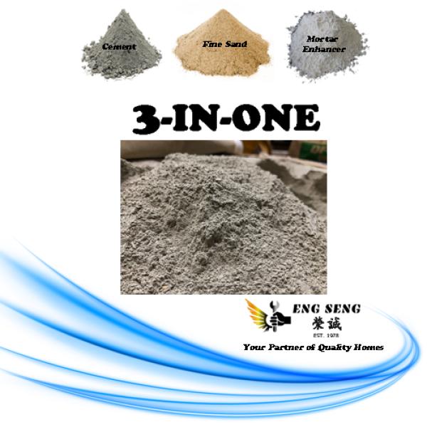 1kg 3 in 1 Ready Mix Cement / Simen Siap Campur