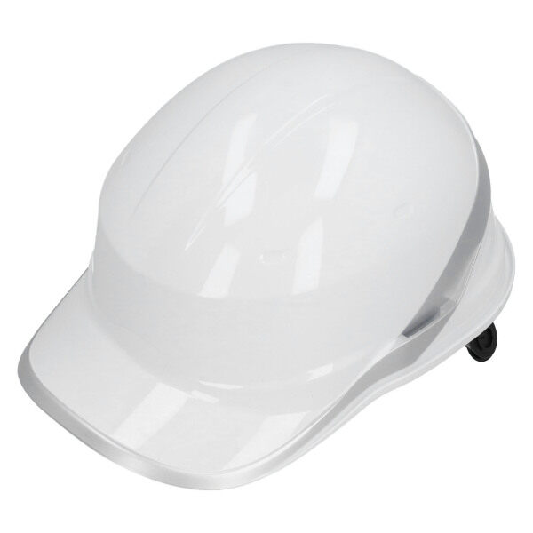 Safety Helmet White Hardhat for Electrical Construction Works