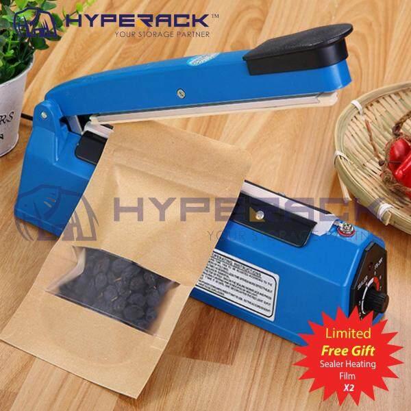 Sealing Impulse Sealer Machine Film Heat PE PP Plastic Poly Bag Sealer 100mm/200mm/300mm w/ 2X Sealer Heating Film