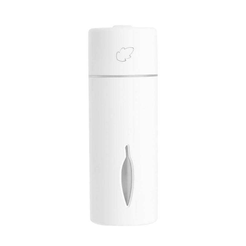 Portable Leaf USB Air Humidifier Atmosphere Lamp Aroma Diffuser for Desktop Singapore