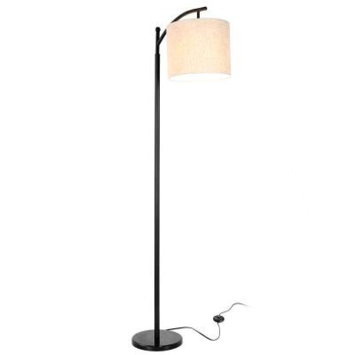 zanflare PY - F1065 E26 9W 3000 - 3500K Floor Lamp with Warm White Light Bulb Modern Lighting Marble Atmosphere Lights Living Room Study Home Decorative Lamp