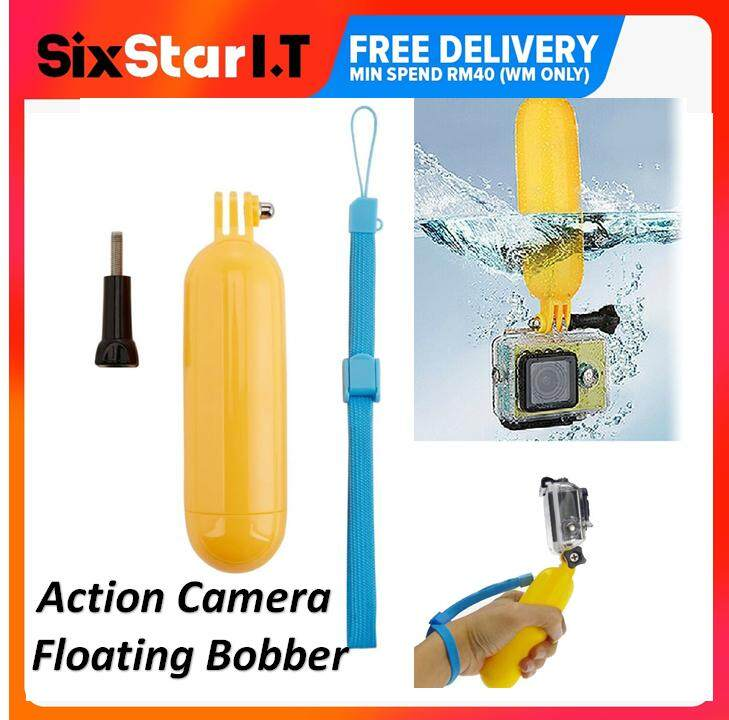 Xtermo Bobber Floating Hand Grip For Gopro Hero 3 3+ 4 Cameras By Sixstar It.