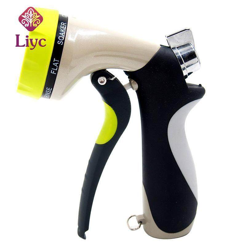 Liyc 1pc Portable Garden Spray Water nozzle Car Washer Snow Foam Cannon Shower Cleaning Hose For Vehicle cleaning and Gardening Watering