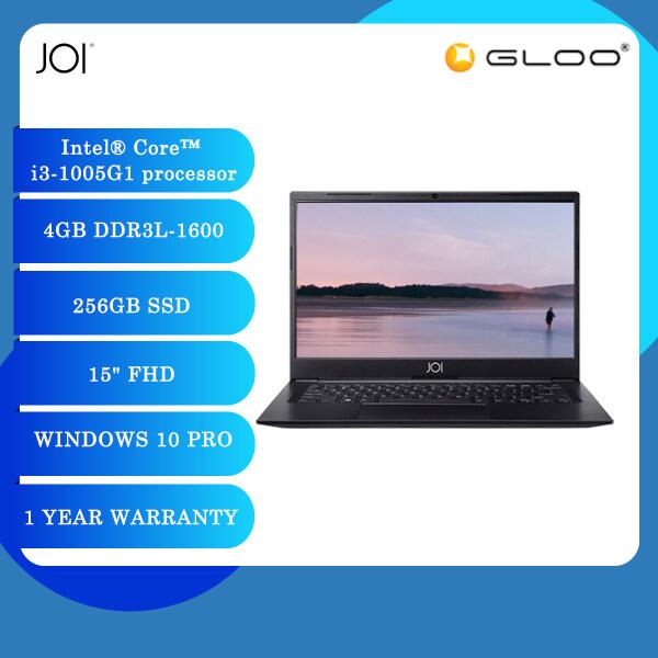 JOI Book 3000 Laptop Black (i3-1005G1,4GB,256GB SSD,15FHD,W10 Pro) Malaysia