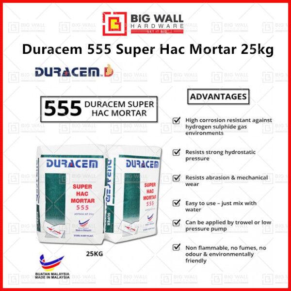 Duracem 555 Super Hac Mortar 25kg [Big Wall Hardware]