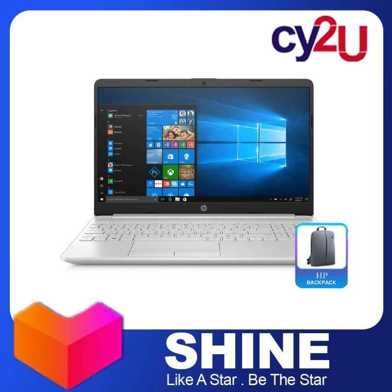 HP 15s-du1033TU 15.6  HD Laptop - Natural Silver (Intel Core i3-10110U, 4GB RAM, 256GB SSD, Intel UHD Graphics, Win10) + HP Backpack Malaysia