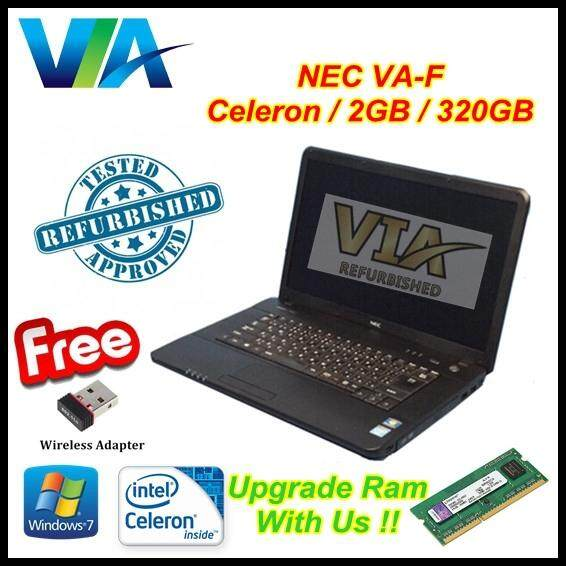 Refurb Nec VersaPro VA-F Celeron R730~2Gb~320Gb HDD~15.6 Malaysia