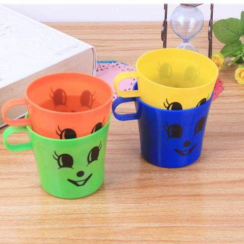 [ready Stock] 4 Pcs Children And Baby Training Drinking Water Plastic Cups By Mk Motorsport.