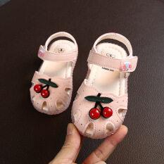 Dmroles 1-3 Tuổi Dép Cho Bé Mùa Hè Mới Giày Đế Mềm Cho Bé Giày Cho Trẻ Mới Biết Đi Thời Trang Hàn Quốc Cô Gái Giày Công Chúa Bao Đầu Giày Miễn Phí Vận Chuyển