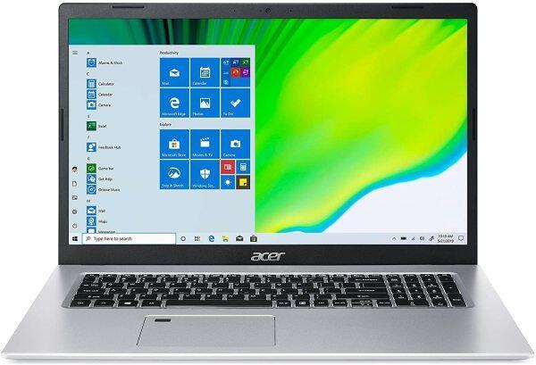 Acer Aspire 5 A517-52-59SV, 17.3 Full HD IPS Display, 11th Gen Intel Core i5-1135G7, Intel Iris Xe Graphics, 8GB DDR4, 512GB NVMe SSD, WiFi 6, Fingerprint Reader, Backlit Keyboard Malaysia