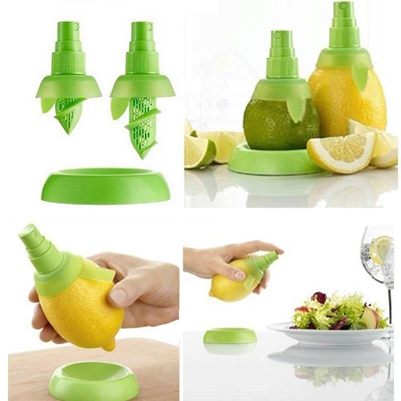 2Pcs Citrus Fresh Squeeze - Easy Hand Squeezer Spray Lemon Lime Sprayer Sprinkler Fresh Juice Extractor