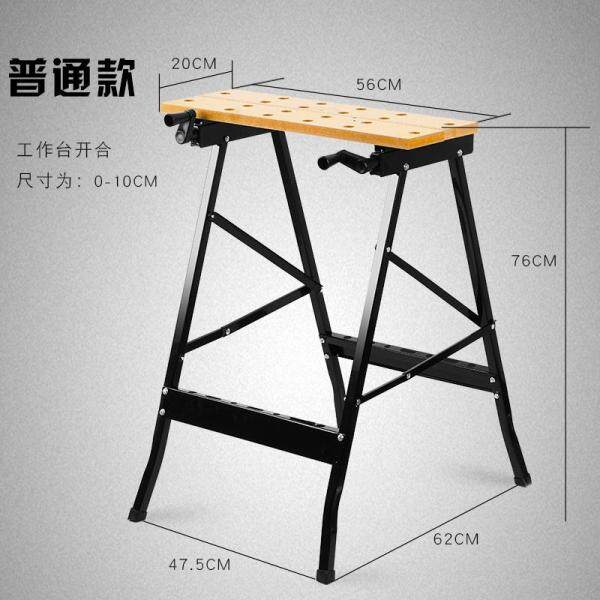 Multifunctional folding inverted woodworking workbench woodworking table table saw portable woodworking saw table decoration tools