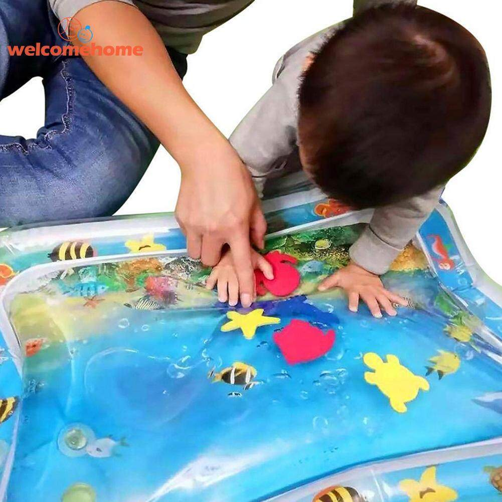 Baby Water Play Mat Inflatable Playmat Toy By Welcomehome.