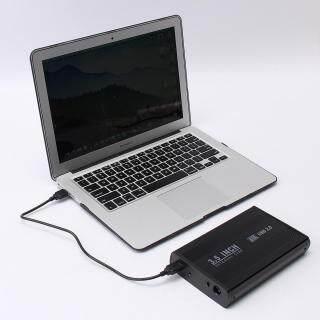 Hộp Đựng Ổ Đĩa Cứng USB2.0 Gắn Ngoài SATA 3.5 Cho Máy Tính Xách Tay thumbnail