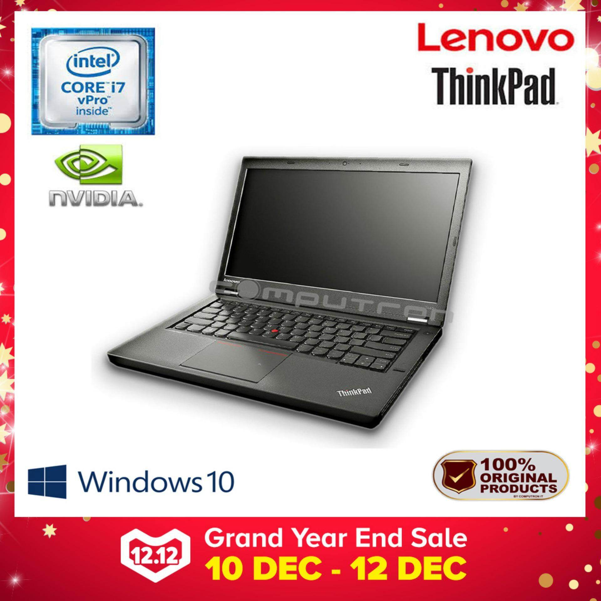 LENOVO THINKPAD T440P CORE I7 V-PRO /8GB/1TB/ NVIDIA GEFORCE GT730 [ 1 YEAR WARRANTY ] Malaysia