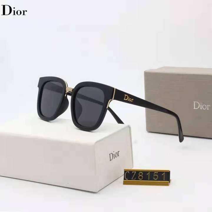 Original_Dior new fashion trend polarized sunglasses 8151 men and women with retro personality sunglasses fashion shades outdoor travel sports fashion sunglasses