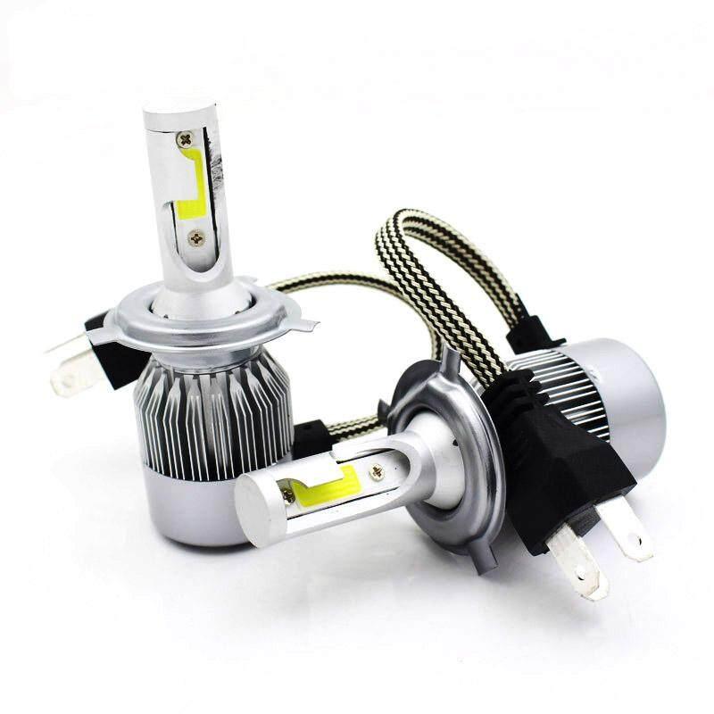 2 Pcs H7 Led Lampu Lampu Mobil 72 W 8000lm Lampu Cob H7 Lampu Depan Dc 12 V 6500 K Putih Tinggi Power Lampu Otomatis Mobil Lampu Led By Car Supermarket.