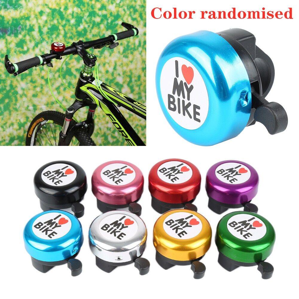 1Pcs New Bicycle Bike Cycling Aluminum Bell Heart Alarm Bike Metal Handlebar Hor