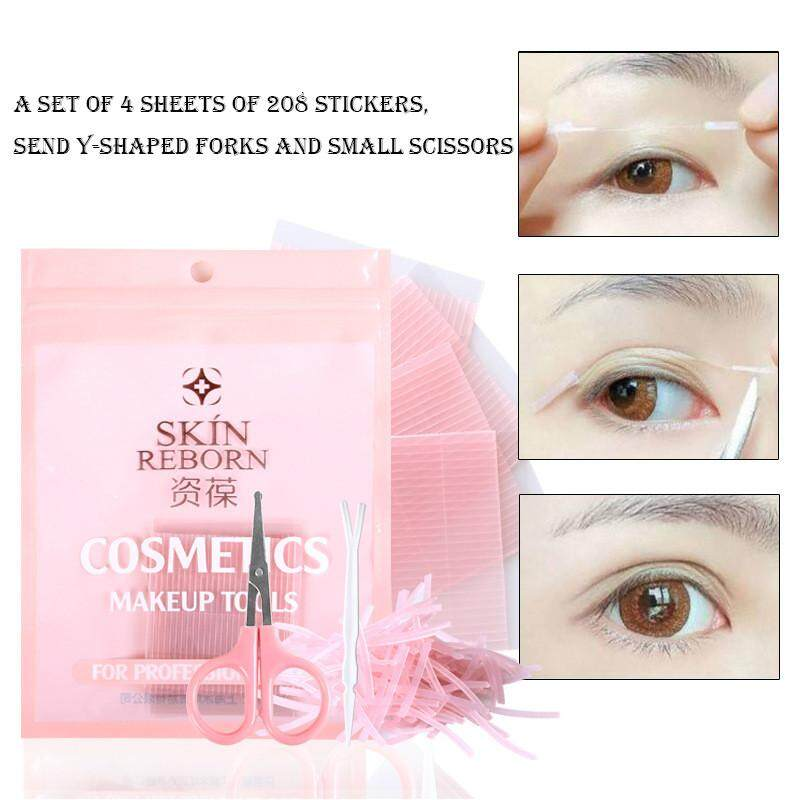 Invisible Fiber Double Side Adhesive Eyelid Stickers Technical Eye Tapes By Lemononstore.