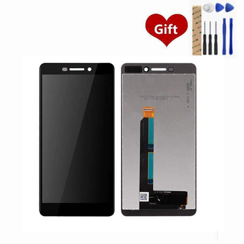Untuk Nokia 6.1 Layar LCD Digitiser Lengkap LCD Layar Sentuh Panel Perakitan Pengganti Suku Cadang 5.5 Inch