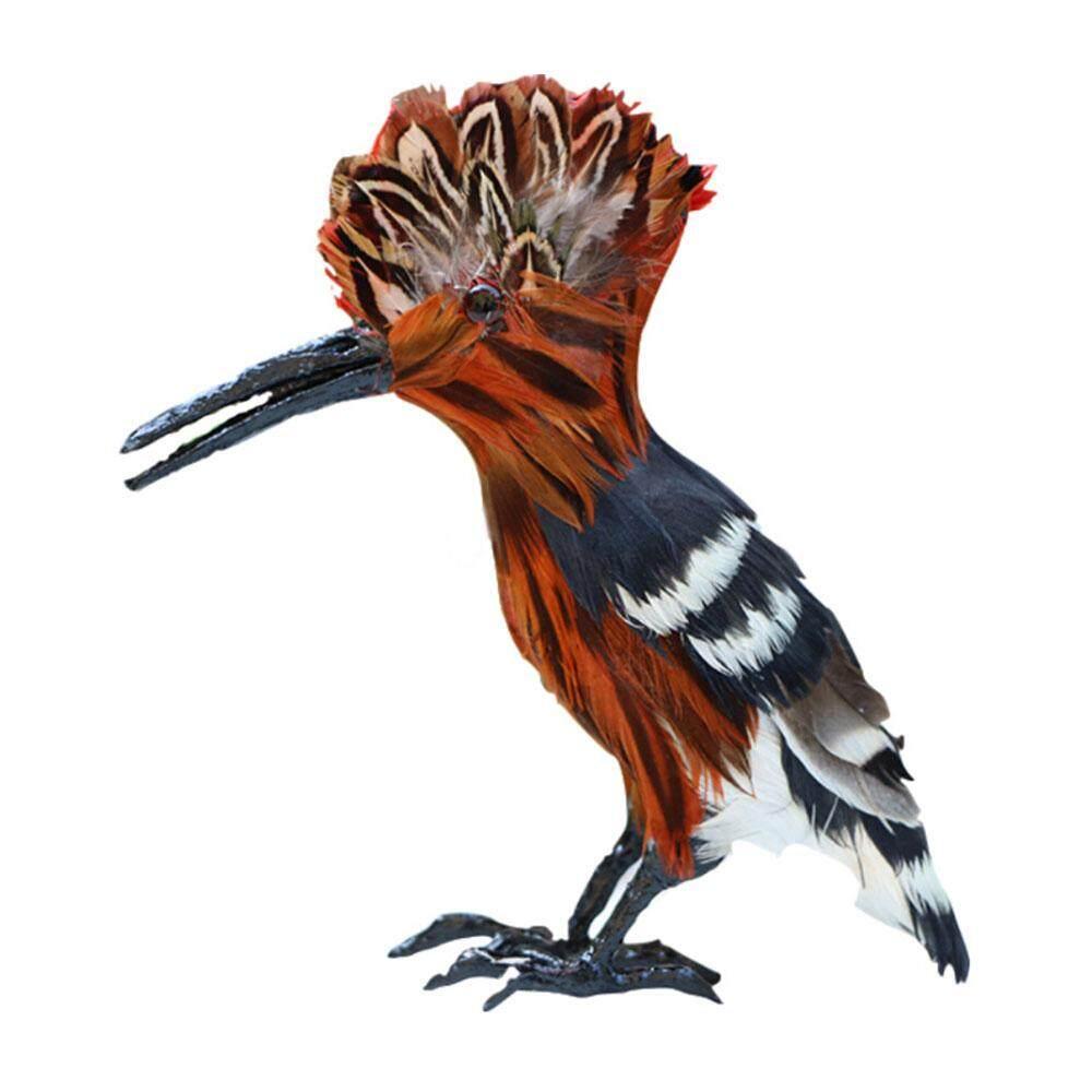 [[Livejoy] Handmade Mô Phỏng Lông Vũ Bãi Cỏ Hình Vật Trang Trí Động Vật Vườn Chim Chim Chống Đỡ Trang Trí