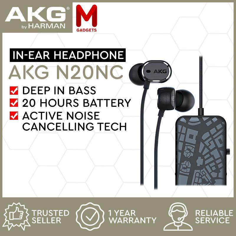 Akg N20 Nc Active Noise Cancelling In Ear Headphones Review - Best