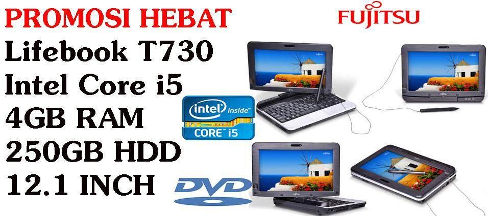 PROMOSI HEBAT Lifebook T730 Intel Core i5 4GB RAM  250GB HDD 12.1 INCH Malaysia