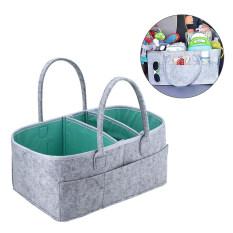Túi Đựng Tã Em Bé Giỏ Đựng Đồ Di Động Túi Thiết Yếu Túi Đựng Đồ Để Bàn Thay Đồ Lót Chống Nước Cho Nhà Trẻ