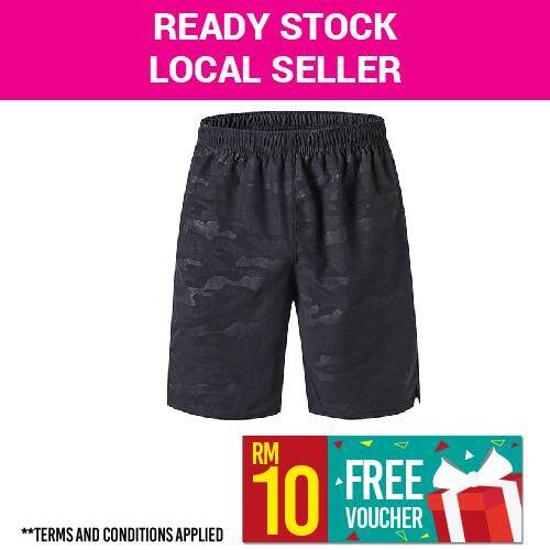 b00722974b841 [ONE DAY PROMO] 2019 Running Shorts Men Quick Dry Fitness Pants Outdoor  Pants Quick