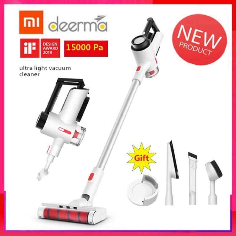 100% Original Xiao mi Deerma VC40 Handheld Wireless Vacuum Cleaner Home Dust Collector for hardwood, carpet, tile floors, car, bed Singapore