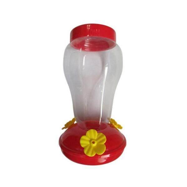 Nhựa Miệng Rộng Chim Ruồi Máng Nước Sân Vườn Cửa Sổ Treo Ngoài Trời Hình Hoa Uống Nước Cho Chim