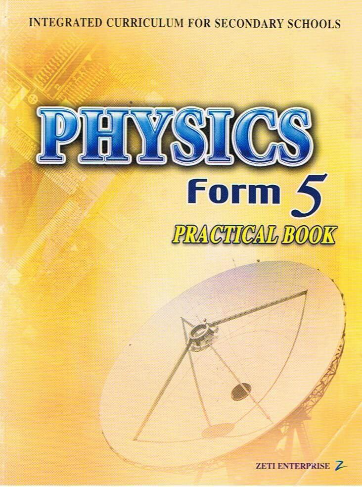 Buku Aktiviti Teks Tingkatan 5 Physics Practical Book
