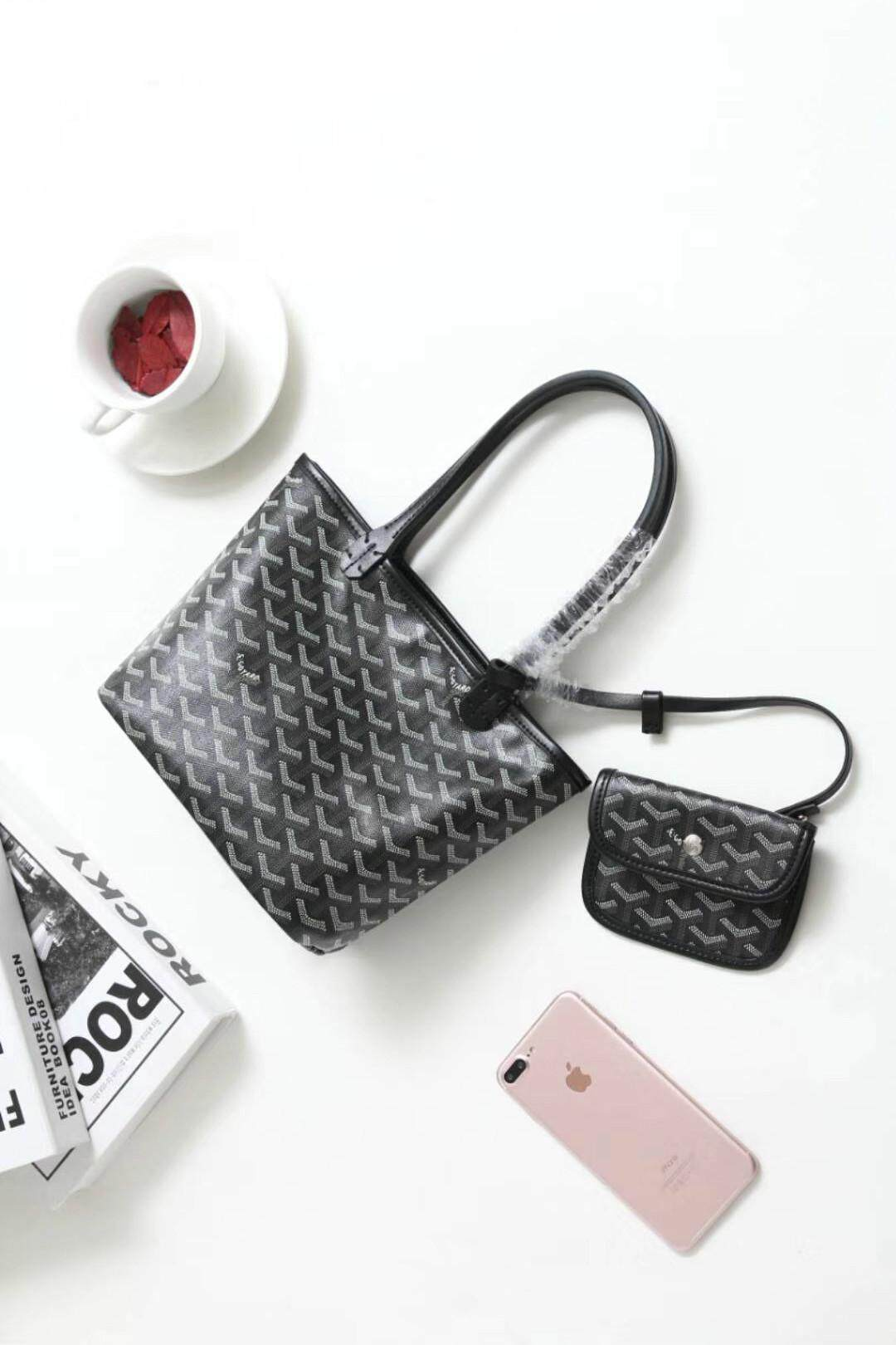 new arrival original luxury brand design women fashion leather small tote bag / shopping bag